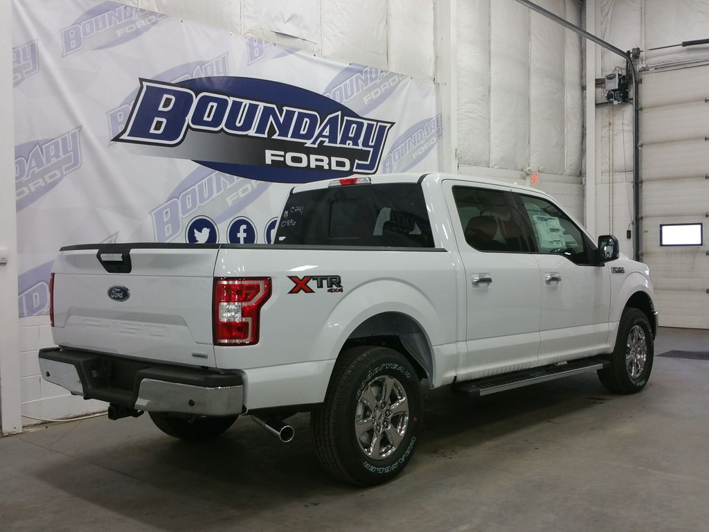 New 2018 Ford F 150 Xlt Xtr 4 Door Pickup In Lloydminster 18t005 Boundary