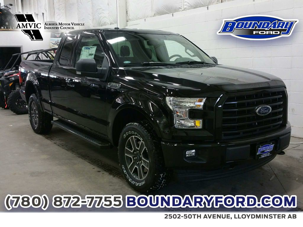 new 2017 ford f 150 xlt sport 4 door pickup in lloydminster 17t076 boundary ford. Black Bedroom Furniture Sets. Home Design Ideas